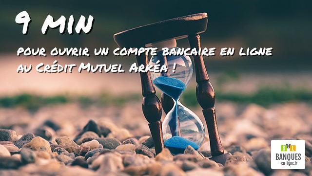 9 Min Pour Ouvrir Un Compte Bancaire En Ligne Au Credit Mutuel Arkea