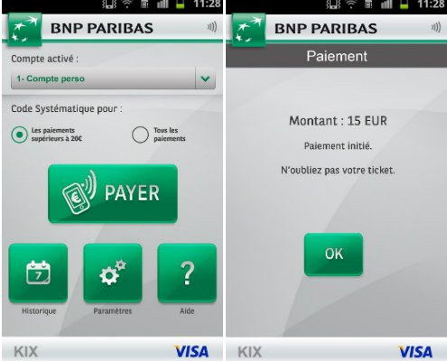 bnp paribas pr sente kix son application de paiement mobile. Black Bedroom Furniture Sets. Home Design Ideas