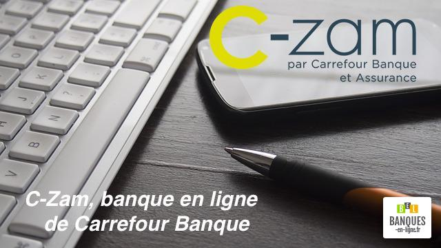 c zam ouvre la porte de la banque en ligne pour carrefour banque. Black Bedroom Furniture Sets. Home Design Ideas