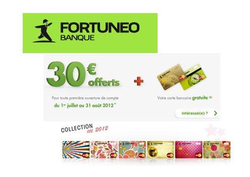 Fortuneo banque son offre compte courant de cet t - Plafond compte courant credit mutuel ...