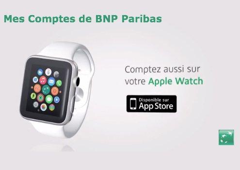 hello bank et bnp paribas lance leur appli bancaire sur apple watch. Black Bedroom Furniture Sets. Home Design Ideas