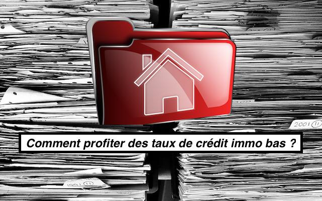 credit immo remonte taux