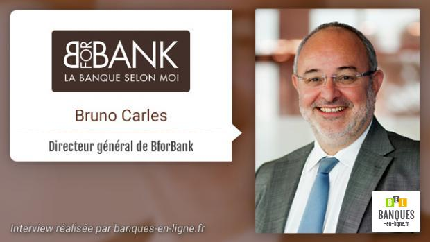 Interview de Bruno Carles de BforBank