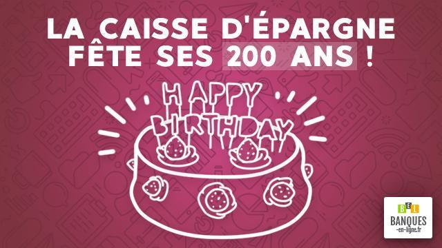 La Caisse D Epargne Fete Ses 200 Ans