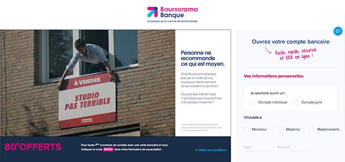 Notre avis sur la banque Boursorama