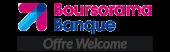 Logo de Welcome, l'offre de boursorama banque