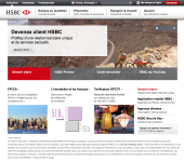 site internet de HSBC