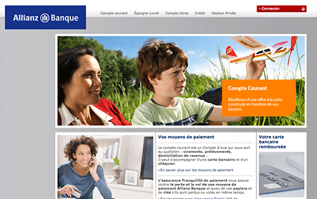 site internet de Allianz