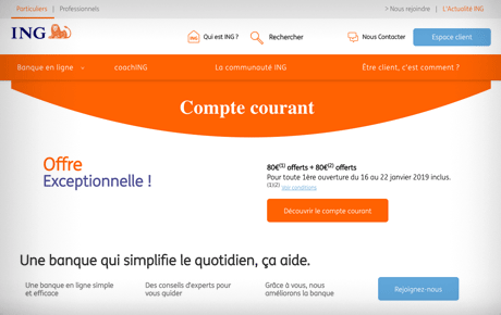 site internet de ing direct