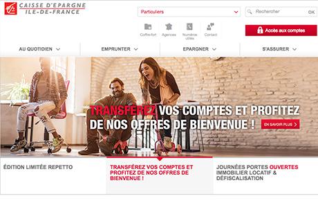 Caisse D Epargne Ile De France Test Et Avis De La Banque En Ligne