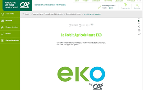 eko by cr dit agricole test et avis de la banque en ligne eko by cr dit agricole. Black Bedroom Furniture Sets. Home Design Ideas